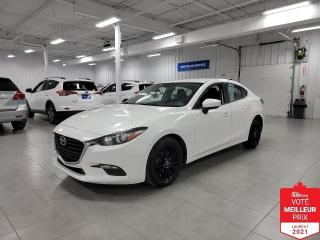 Used 2017 Mazda MAZDA3 GX - A/C + CAMERA + JAMAIS ACCIDENTE !!! for sale in Saint-Eustache, QC