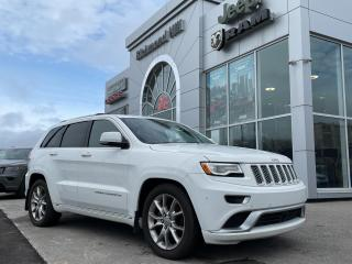 Used 2016 Jeep Grand Cherokee 4x4 Summit /V6/PANO ROOF/NAV/ACCIDENT FREE for sale in Richmond Hill, ON
