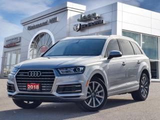 Used 2018 Audi Q7 3.0T /NAV/PANO ROOF/7 SEATS/One.Owner for sale in Richmond Hill, ON