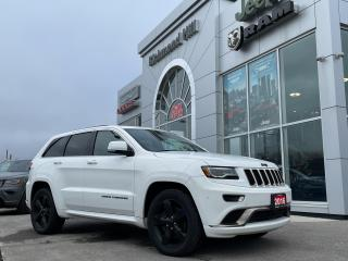 Used 2016 Jeep Grand Cherokee 4x4 Overland Eco Diesel/High Altitude/Tow Package! for sale in Richmond Hill, ON