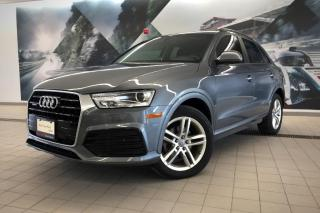 Used 2018 Audi Q3 2.0T Komfort + quattro | Rear Cam | Nav for sale in Whitby, ON