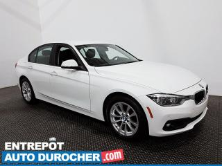 Used 2017 BMW 3 Series 320i xDrive - AWD - Bluetooth - Climatiseur - Cuir for sale in Laval, QC