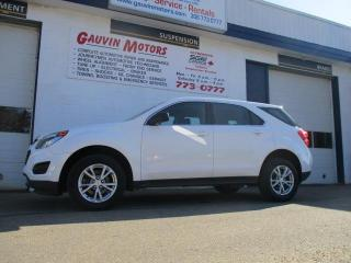 Used 2017 Chevrolet Equinox LS All Wheel Drive, Loaded, 66K for sale in Swift Current, SK