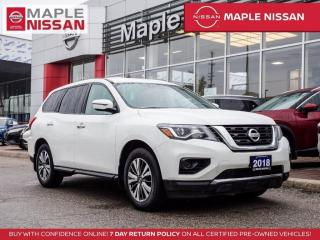 Used 2018 Nissan Pathfinder S 7 Seater Backup Camera Bluetooth Alloys for sale in Maple, ON
