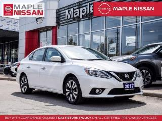 Used 2017 Nissan Sentra SL Navi Blind Spot Moonroof Backup Cam Bluetooth for sale in Maple, ON