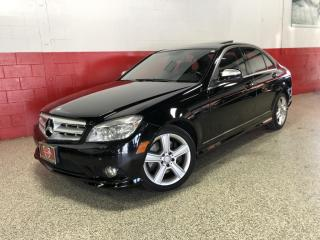 Used 2009 Mercedes-Benz C-Class C300 3.0L 4MATIC NAVI PARKING SENSORS BLUETOOTH SUNROOF for sale in North York, ON