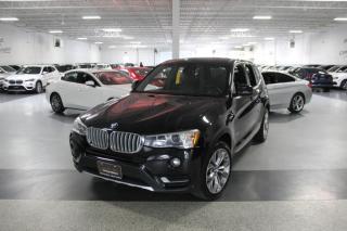 2017 BMW X3 XDRIVE28i NO ACCIDENTS I NAVIGATION I PANOROOF I REAR CAMERA