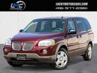 Used 2008 Pontiac Montana Sv6 ONLY 26,000KMS-NO ACCIDENTS-ONE OWNER-CERTIFIED for sale in Toronto, ON
