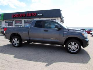 Used 2012 Toyota Tundra Tundra-Grade 5.7L Double Cab 4WD Bluetooth Certified for sale in Milton, ON