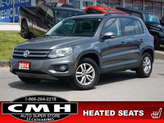 2014 Volkswagen Tiguan Trendline  BLUETOOTH HTD-SEATS MAN 16-AL