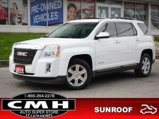 Used 2014 GMC Terrain SLT-1  CAM ROOF LEATH HTD-SEATS 17-AL for sale in St. Catharines, ON