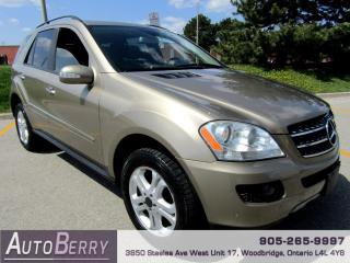 Used 2008 Mercedes-Benz ML-Class ML350 for sale in Woodbridge, ON