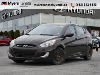 Used 2015 Hyundai Accent SE  - $62 B/W for sale in Kanata, ON