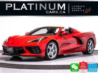 Used 2021 Chevrolet Corvette Stingray CONVERTIBLE,NAV,CAM,PADDLE SHIFTERS for sale in Toronto, ON