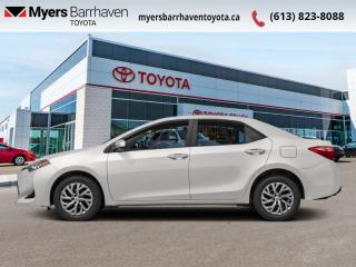 Used 2018 Toyota Corolla XLE Package  - Back Up Camera - $128 B/W for sale in Ottawa, ON