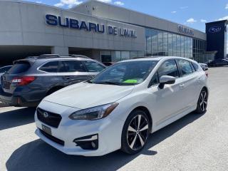 Used 2017 Subaru Impreza Hatch Sport-tech *Cuir, navigation* for sale in Laval, QC