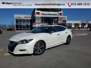 Used 2017 Nissan Maxima SV  -  Navigation -  Leather Seats - $167 B/W for sale in Ottawa, ON