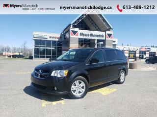 Used 2019 Dodge Grand Caravan Crew  - Leather Seats - $164 B/W for sale in Ottawa, ON
