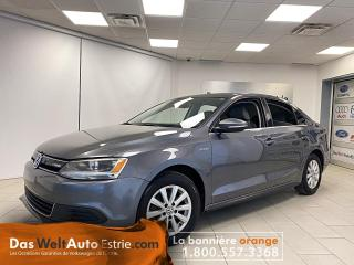 Used 2013 Volkswagen Jetta Hybrid, Cuir, Automatique, DSG! for sale in Sherbrooke, QC