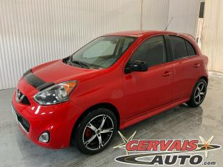 Used 2015 Nissan Micra SR Mags Caméra A/C Bluetooth for sale in Trois-Rivières, QC
