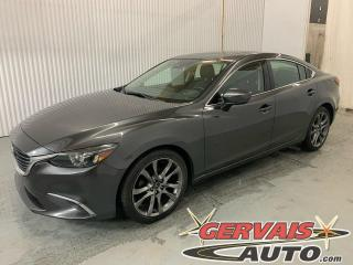 Used 2017 Mazda MAZDA6 GT Mags Cuir GPS Toit ouvrant Caméra for sale in Trois-Rivières, QC