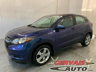 Used 2016 Honda HR-V LX AWD Mags Caméra A/C Bluetooth *Traction Intégrale* for sale in Trois-Rivières, QC