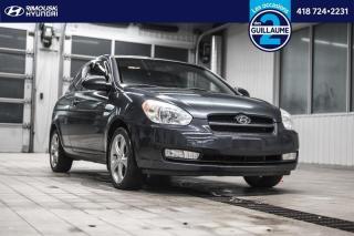 Used 2008 Hyundai Accent GS sport chez Rimouski Hyundai for sale in Rimouski, QC