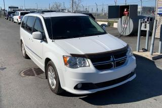 Used 2016 Dodge Grand Caravan CREW PLUS STOW N GO CUIR MAGS NAV CAMERA DE RECUL for sale in St-Hubert, QC