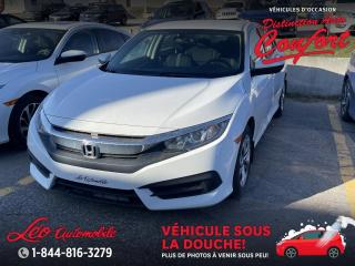 Used 2017 Honda Civic LX 4 portes CVT for sale in Chicoutimi, QC