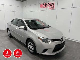 Used 2016 Toyota Corolla Ce - A/c - Bluetooth for sale in Québec, QC