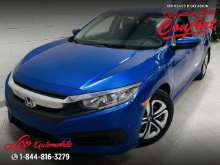 Used 2016 Honda Civic 4 portes, boîte manuelle, LX for sale in Chicoutimi, QC