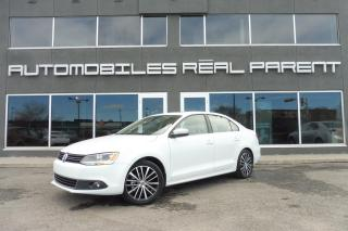 Used 2014 Volkswagen Jetta TSI - HIGHLINE - CUIR - TOIT - MANUELLE - for sale in Québec, QC