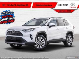 New 2021 Toyota RAV4 Limited  - Leather Seats -  Sunroof for sale in High River, AB