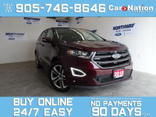 Used 2018 Ford Edge SPORT | AWD | NAV | PANO ROOF | LEATHER | 401A for sale in Brantford, ON