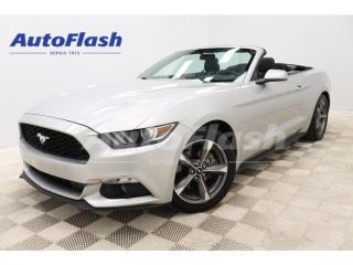 Used 2016 Ford Mustang *V6 *CONVERTIBLE *EXTRA-CLEAN *DEMARREUR/STARTER * for sale in St-Hubert, QC