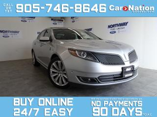 Used 2013 Lincoln MKS AWD | 201A PREMIUM PKG | LEATHER | ROOF | NAV | V6 for sale in Brantford, ON