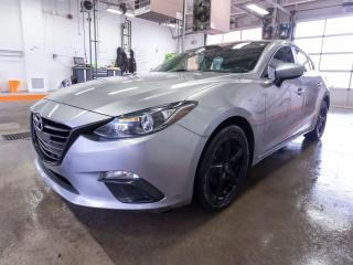 Used 2016 Mazda MAZDA3 GX CAMÉRA BLUETOOTH CLIMATISEUR *BAS KILOMÉTRAGE* for sale in St-Jérôme, QC