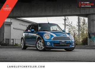 Used 2015 MINI Cooper CONVERTIBLE BASE  Bluetooth/ Leather/ Convertible/ Local for sale in Surrey, BC
