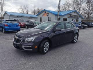 Used 2015 Chevrolet Cruze 1LT for sale in Madoc, ON