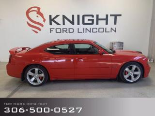 Used 2007 Dodge Charger SRT8 for sale in Moose Jaw, SK