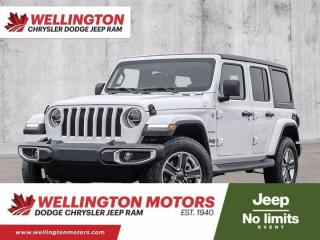 New 2021 Jeep Wrangler 4xe Unlimited Sahara for sale in Guelph, ON