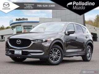 Used 2018 Mazda CX-5 GX - ONE OWNER - BACKUP CAMERA - BLIND SPOT MONITORING for sale in Sudbury, ON
