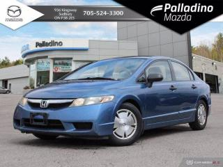 Used 2010 Honda Civic Sdn DX-G - SELF CERTIFY for sale in Sudbury, ON