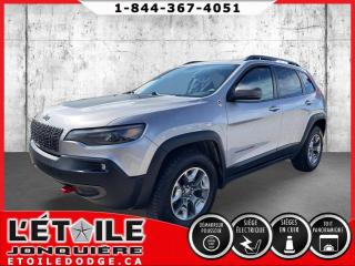 Used 2019 Jeep Cherokee CHEROKEE TRAILHAWK ELITE 2.0L TURBO 4X4 for sale in Jonquière, QC