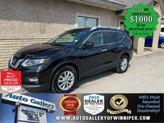 Used 2018 Nissan Rogue SV* AWD/Heated Seats/Reverse Camera/BLUETOOTH for sale in Winnipeg, MB