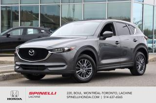 Used 2017 Mazda CX-5 GX FWD MAGS 8 PNEUS MAGS BLUETOOTH CAMERA RECUL CRUISE for sale in Lachine, QC