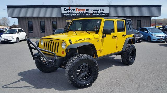 2008 Jeep Wrangler UNLIMITED RUBICON 4X4 **JUST GOT THIS**