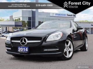 Used 2014 Mercedes-Benz SLK SLK 250 ( CLEAN CARFAX, GOOD CONDITION CONVERTIBLE HARD TOP ) for sale in London, ON