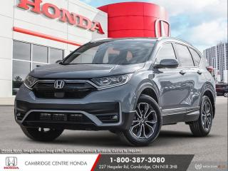 New 2021 Honda CR-V EX-L HONDA SENSING TECHNOLOGIES | POWER SUNROOF | APPLE CARPLAY™ & ANDROID AUTO™ for sale in Cambridge, ON