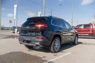 Used 2017 Jeep Cherokee Limited NAVI/FULL SUNROOF/SAFETYTEC GROUP for sale in Concord, ON
